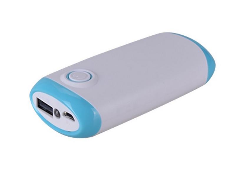 Power Bank (4000 mAh) Повербанк с фонариком (реальная емкость) Портативное зарядное устройство (PowerBank)