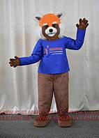 Поролоновый костюм Красная панда