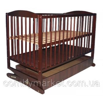 Ліжечко-колиска Klups Radek II з ящиком горіх