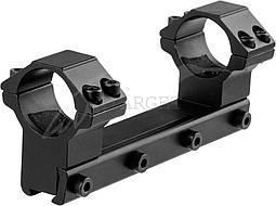 """Крепление-моноблок Beeman FTMA087L , 1"""", 11 мм, высокое, 4 винта"""