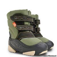 Сапоги Demar SNOW STORM b (зеленые) 20-21