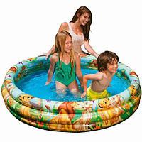 Детский надувной бассейн Intex 147x33 cм Король Лев  (58420)