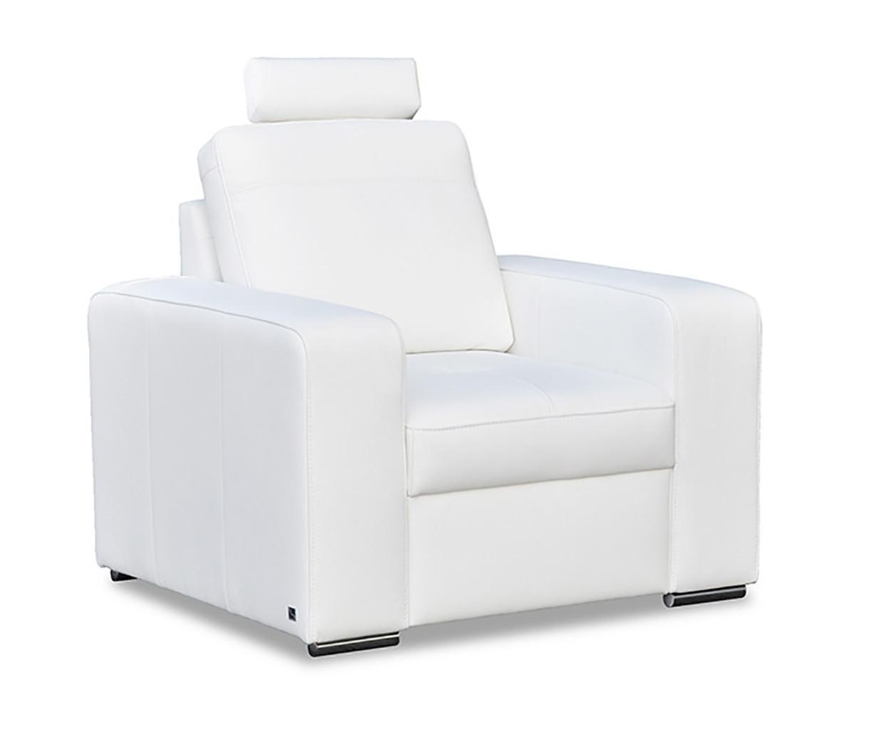 Стильне крісло в шкірі FX 10 (98 см)