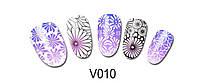 Слайд для для дизайна V010