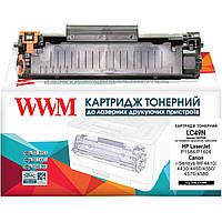 Аналог HP 78A, CE278A, Canon 726, 728 Картридж Совместимый (Неоригинальный) WWM (LC49N)