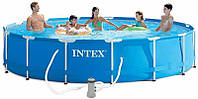 Круглый каркасный бассейн Intex  457х84 см (28228)