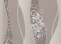 """Обои рулонные виниловые на бумажной основе """"Волна 11124 ТМ """"Крокус"""" (Украина) 0,53*10,05м"""
