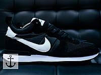 Мужские кроссовки Nike Mid Черные