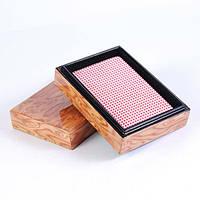 Колода карт в деревянной шкатулке Duke B13L