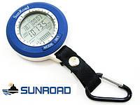 Рыбацкий барометр брелок Sunroad SR-204 с указанием времени, погоды, температуры, изменения давления