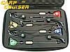 Набор электронных свингеров SW20-4 с подключением к электронным сигнализаторам поклевки