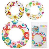 Детский надувной круг Intex 51 см   (59230)