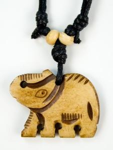 Амулет тибетська Слон 3.0 х 3.0 x 0.5 см