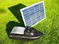 Солнечная панель для зарядки литиевого аккумулятора, кораблика для прикормки JABO AL серии, 20W-5V , фото 1