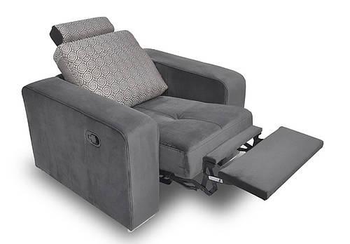 Стильное кожаное кресло FX 10 BIS (98 см)