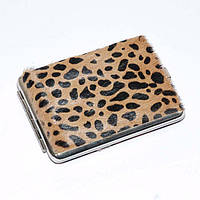 Портсигар мех леопард, S.Quire AB02-2201 S.Quire