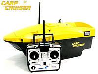 Кораблик карповый CarpCruiser Boat YBF7 с эхолотом Lucky FFW718 для завоза прикормки, приманки, рыбалки , фото 1
