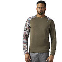 Мужской джемпер Reebok Quik Cotton Crew Neck (Артикул: CE6066)