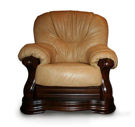 Класичне шкіряне крісло Senator (120 см), фото 2