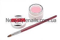 Уф гель для наращивания ногтей CCN, розовый (PINK) 15 ml(0.5 OZ)