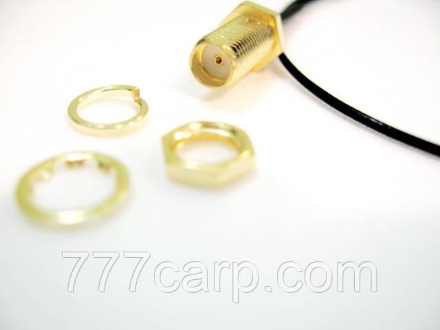 Коаксиальный кабель 30 см для антенны 433 Mhz с SMA разъемом для подключения беспроводного эхолота
