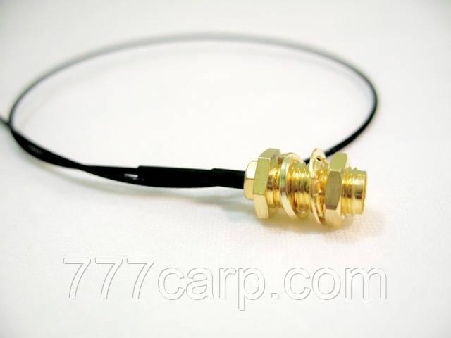 Коаксиальный кабель 50 см для антенны 433 Mhz с SMA разъемом для подключения беспроводного эхолота