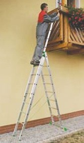 Универсальная лестница из трех частей Itoss 7608 - Instrade в Днепре