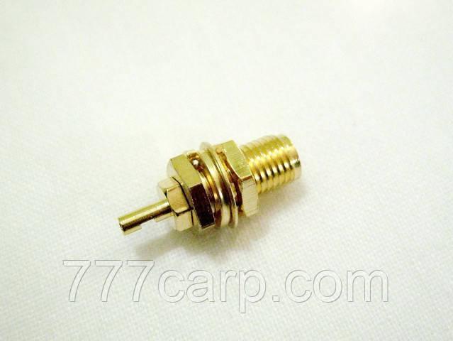 """Разъем для кабеля 1.13 мм/1.37 мм/RG178 SMA """"мама"""""""