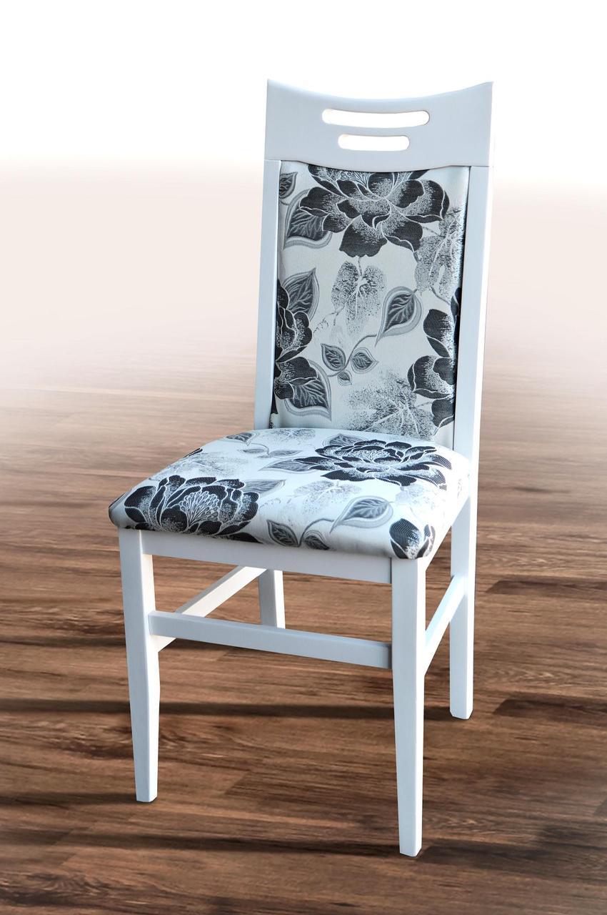 Стул кухонный Юля  Микс мебель, цвет  белый / беж