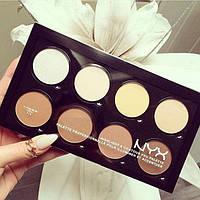 Палетка для макияжа лица Nyx Highlight & Contour Pro Palette