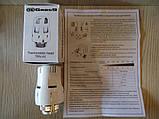 Термоголовка белая Gross TRV-01 для радиаторов отопления, фото 3