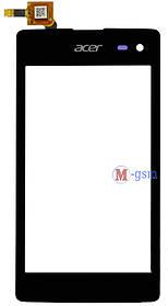 Тачскрин (сенсорный экран) для телефона ACER LIQUID M220 черный