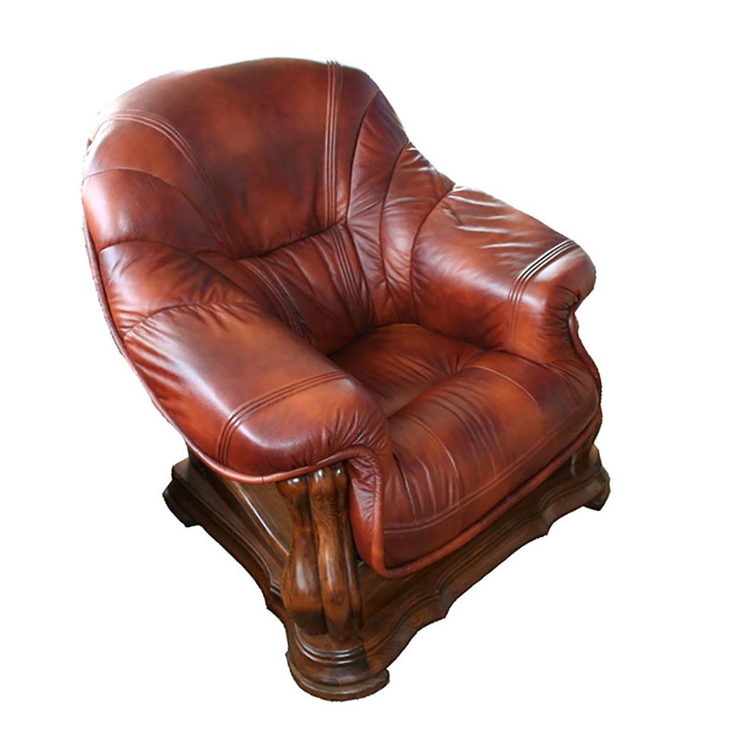 Кресло в коже MIAMI (105 см)