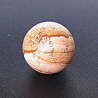 [3] Шар из натурального камня камень Яшма Пейзажная песочная