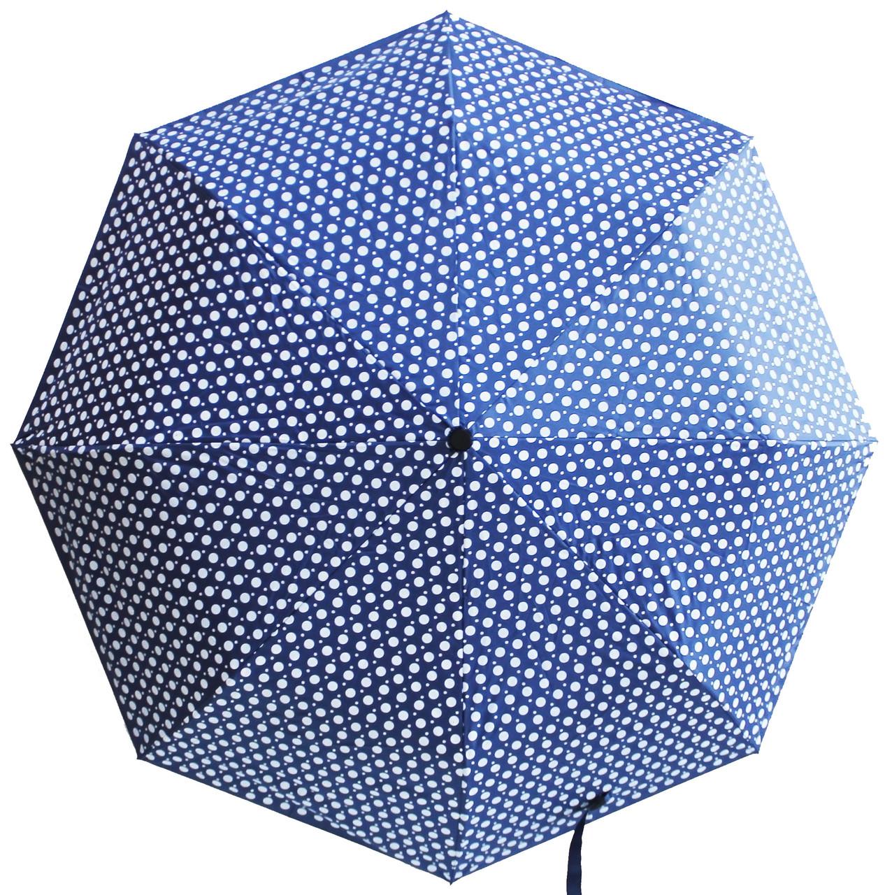 Женский  зонт в горошек
