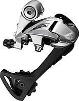Переключатель задний Shimano Alivio RD-T4000 SGS 9 скоростей длинный рычаг серебристый