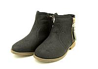 Ботинки демисезонные для девочки Kylie crazy 29-35 р. 30 размер-19.5 см;