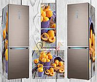 Дизайнерские наклейки на холодильник Абрикос