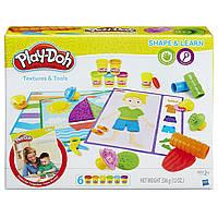 """Play-Doh Игровой набор """"Текстуры и инструменты"""""""