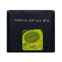 Аккумулятор Нокиа (Nokia), АКБ BP-6X (8800 Sirocco)