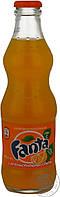 Напиток безалкогольный Фанта с апельсиновым соком стеклянная бутылка 250мл Украина