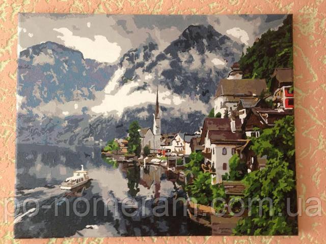 Mariposa, нарисованные картины Швейцарские Альпы MR-Q352