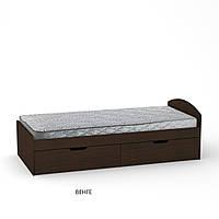 Кровать 90+2,с двумя выдвижными ящиками