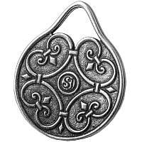 Капля Жизни / Кельтский Амулет / Серебрение /    Символ   здоровья и долголетия