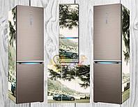 Дизайнерские наклейки на холодильник Авто