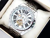 Мужские механические наручные часы Слава Созвездие на металлическом браслете