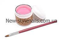 Гель  для наращивания ногтей ALL SEASON, (светло-розовый)№1 , 60 ГР