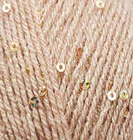 Пряжа Alize SAL ABIYE молочно-бежевый №67 акриловая для ручного вязания
