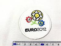 Нашивка Euro 2012 60х60 мм
