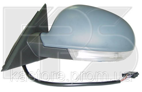 Зеркало левое электро с обогревом SUPERB 02-08